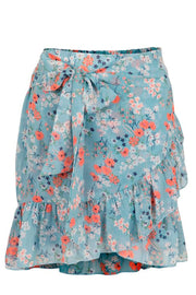 Bella Meadow Skirt | Light Blue | Nederdel fra NEO NOIR