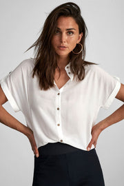 Pillo blouse | Hvid | Bluse fra Freequent