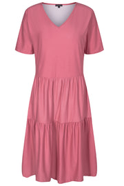 Alma Short Loose Dress | Dusty Rose | Kjole fra Liberté Essentiel
