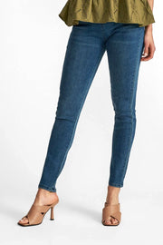 Shantal pa denim | Medium blue |  Bukser fra FREEQUENT