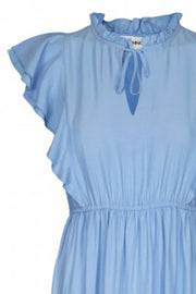 Ivalo Dress | Light Blue | Lang kjole fra Sofie Schnoor