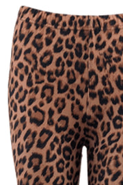 Lynn Leggings | Brown | Leggings med print fra Black Colour