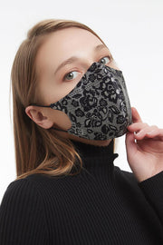 Lace Mask | Blonde | Silke caremask fra Wolford