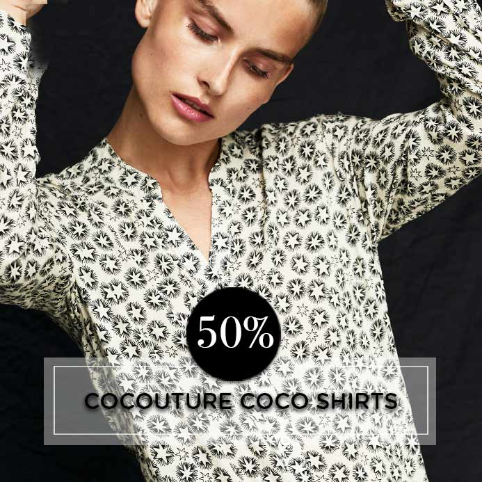 COCO SHIRTS COCOUTURE - TILBUD