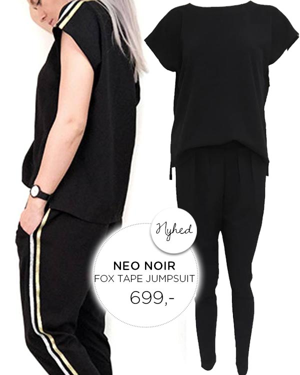 NEO NOIR Fox Tape Jumpsuit