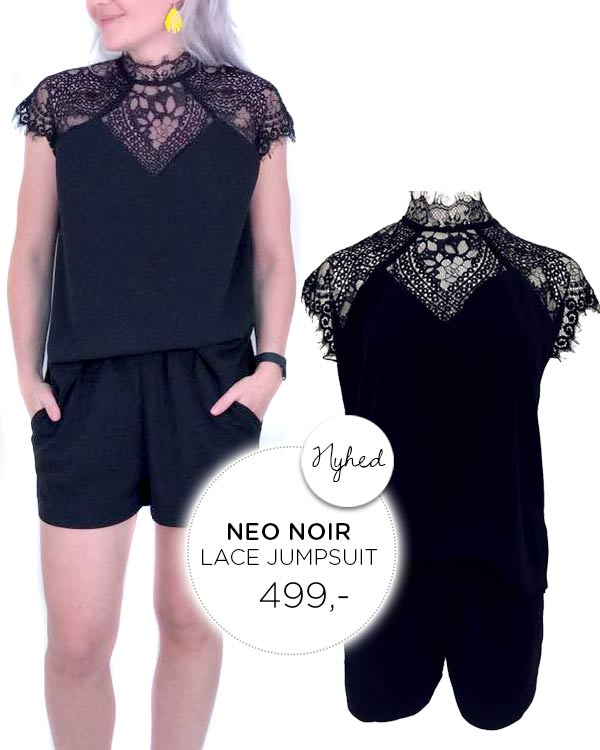 NEO NOIR Glory Lace Jumpsuit