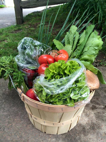 Organic Farm Share Basket - Weekly Subscription