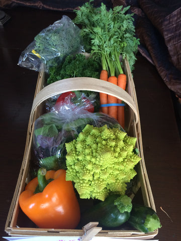 Organic Farm Share - Small Fruit & Veggie Basket - 1 time purchase!