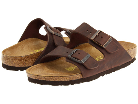Birkenstock Arizona Natural Leather Havana