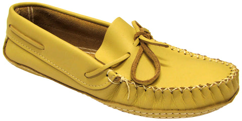 Men's Moccasins Wide Deer Cream