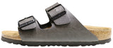 Birkenstock Arizona Vegan, Pull up Anthracite, Birko-Flor