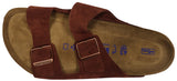 Birkenstock Arizona, Soft Footbed, Port, Suede