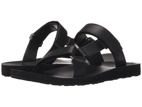 1e2e6a4626f3eb Women s Teva Universal Slide Leather Black – Byward Centre