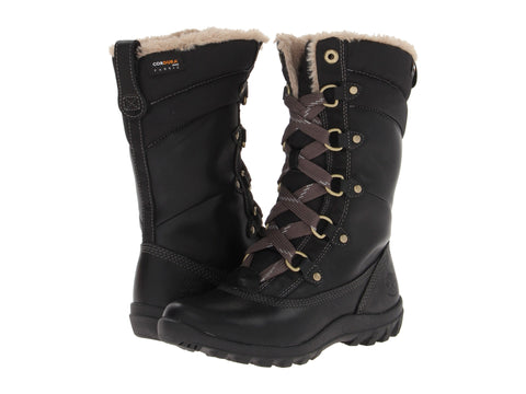 Timberland Women's Mount Hope Mid Snow Boots Black