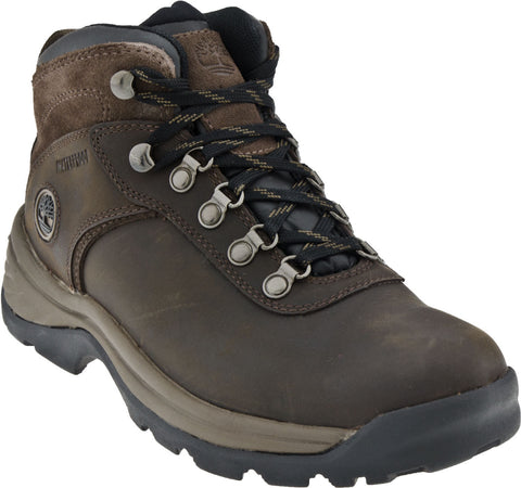 Timberland Men's FLUME MID Waterproof Dark Brown