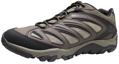 Merrell Men's Outpulse Leather Black/Bracken Hiking Shoe