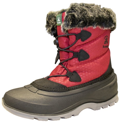 Kamik Women's MomentumLO Winter Boots Red
