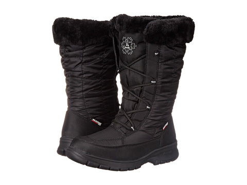 Women's New York 2 Snow Boots Wide Black