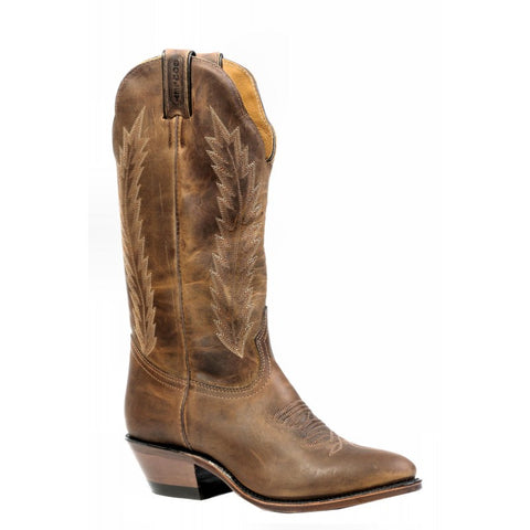 "Boulet 13"" Ladies HillBilly Golden Medium Cowboy Toe Boot"