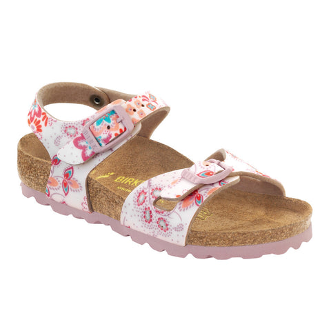 Birkenstock Rio Cute Flowers Girls Sandal