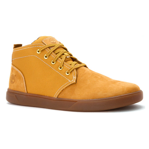 Timberland Men's Groveton Leather and Fabric Wheat
