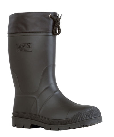 Kamik Men's Hunter Insulated Rubber Boots Black