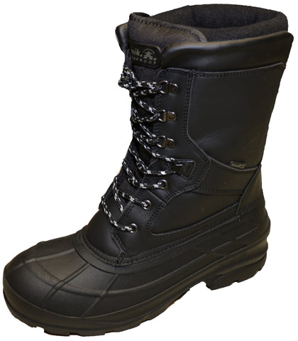 Kamik Men's Nationwide Pro Black Snow Boots