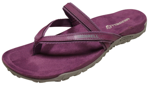 Merrell Women's Terran Ari Post Sandal Very Grape