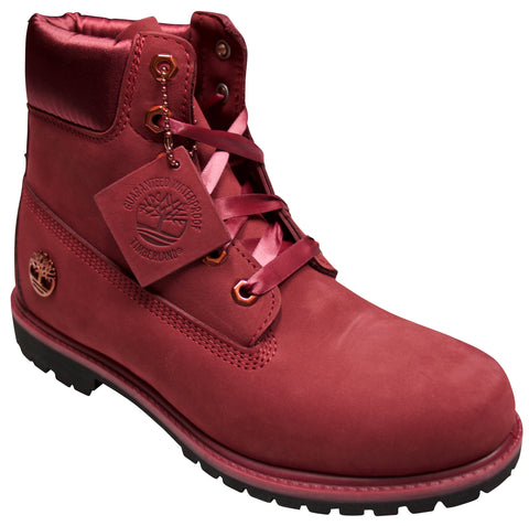 "Womens Timberland 6"" Premium Satin Collar Boot"