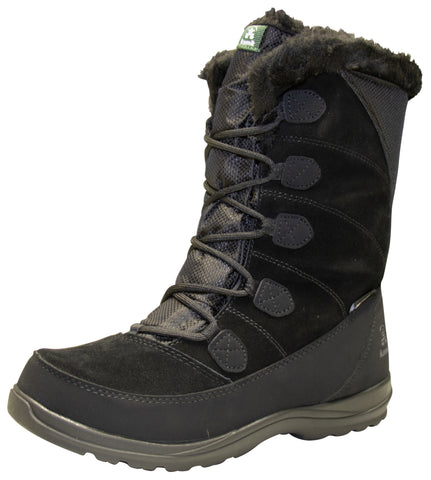 Kamik Women's Icelyns Wide Winter Boots Black