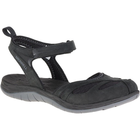 Merrell Women's Siren Wrap Q2 Sandals Black