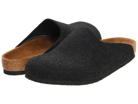 Amsterdam Clogs, Felt Upper, Anthracite