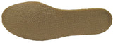 Women's Suede Slipper, lined, rubber, Chinchilla Rabbit, Brown