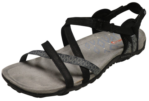 Merrell Women's Terran Lattice II Sandal Black