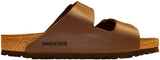 Birkenstock Arizona Soft Footbed Birko-Flor Dark Brown