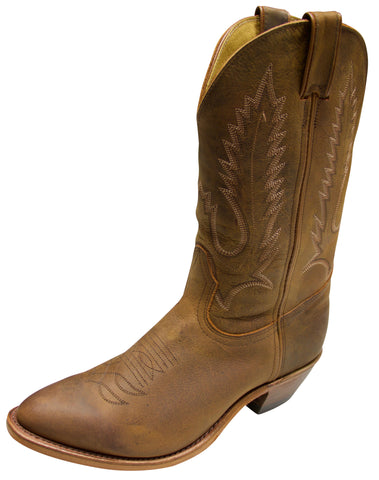 Boulet Men's Rider Cowboy Boot Brown