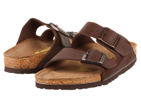Birkenstock Arizona Birko-Flor Dark Brown