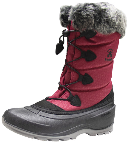 Kamik Women's Momentum Red Women's Snow Boot