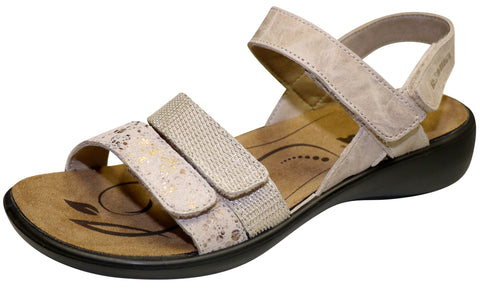 Romika Women's Ibiza 103 Sandal, Natural Combination