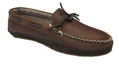 Men's Leather Moccasins Merino