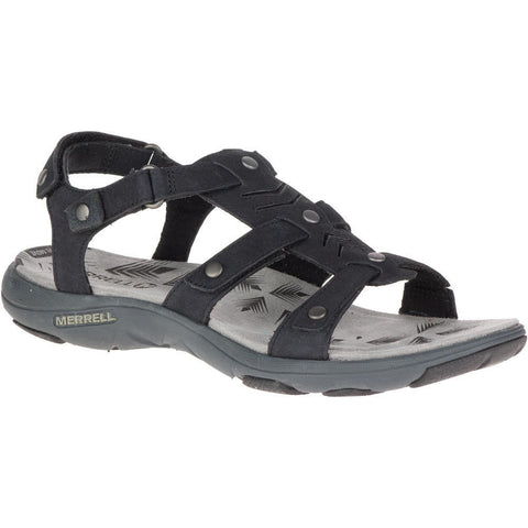 Merrell Women's Adhera Three Strap II Sandals Black