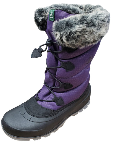 Kamik Women's Momentum Dark Purple Women's Snow Boot