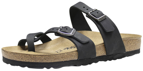 Birkenstock Mayari, Black, Oiled Leather