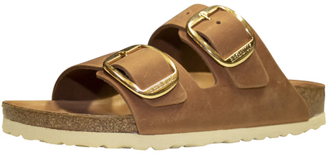 Birkenstock Arizona Big Buckle, Cognac, Oiled Leather
