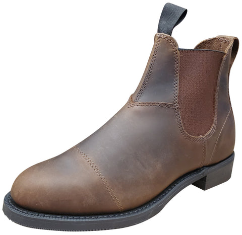 Canada West Women's Crazy Horse Tan Leather Boots