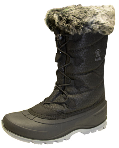 Kamik Women's Momentum2 Black Winter Boot