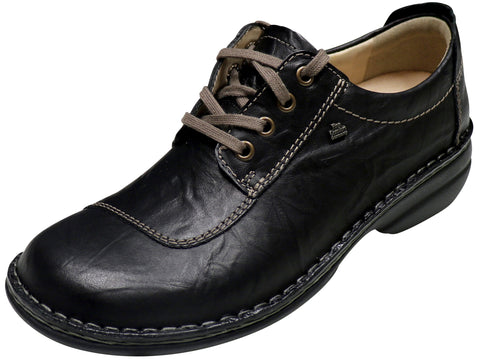 Finn Comfort Lexington, Black, Plissee