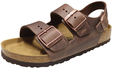 Birkenstock Milano, Habana, Oiled Leather