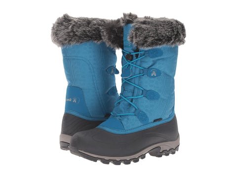 Kamik Women's Momentum Snow Boots Teal Blue