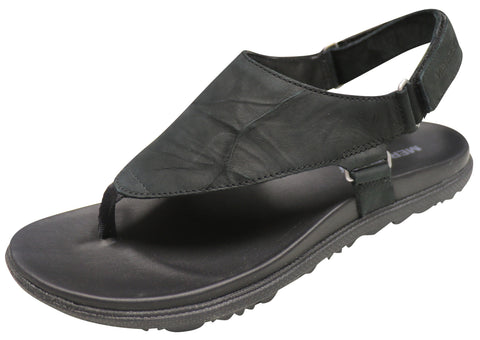 Merrell Women's Around Town Sunvue Post Sandal Black